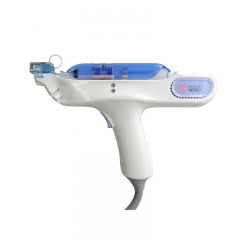 Rf Anti Age Water Injector Mesotherapy Injection Gun Skin Rejuvenation 3 Colors Red Blue Green Led Light Therapy